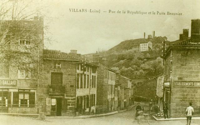 Puits Beaunier -Villars