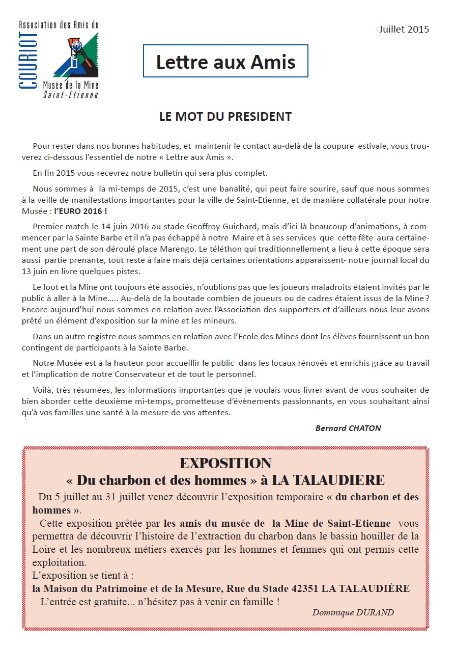 lettre amis 01-16